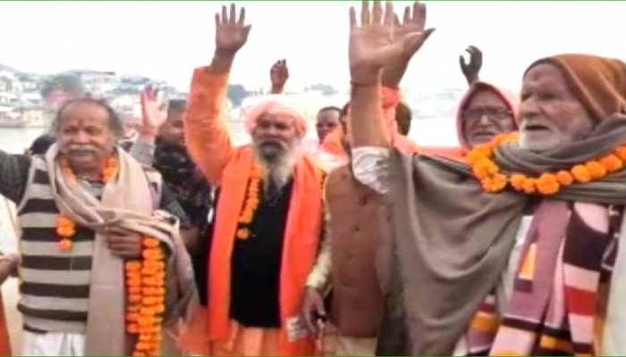अजमेर: पुष्कर धार्मिक मेले में शाही स्नान आज, गाजे-बाजे के साथ निकाली गई शोभायात्रा