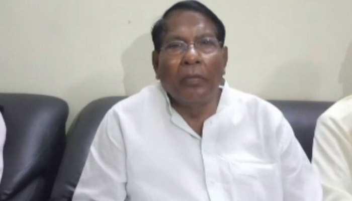 झारखंड चुनाव: रामेश्वर उरांव ने भरा पर्चा, पूर्व मंत्री KN त्रिपाठी ने रोड शो कर किया नामांकन