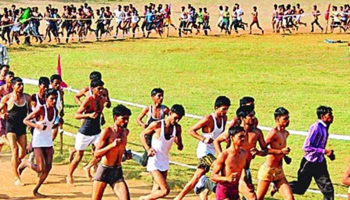 झुंझुनूं: सेना भर्ती रैली में 5वें दिन पहुंचे 3,845 युवा, दौड़ में 346 युवा हुए पास