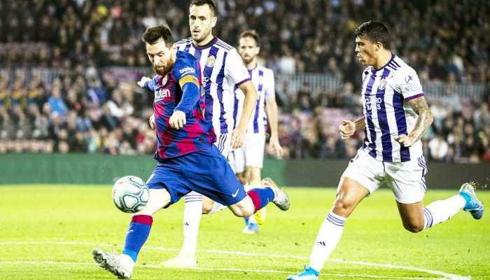 La Liga: मेसी ने बराबर किया रोनाल्डो का रिकॉर्ड, बार्सिलोना को हैट्रिक लगाकर दिलाई जीत