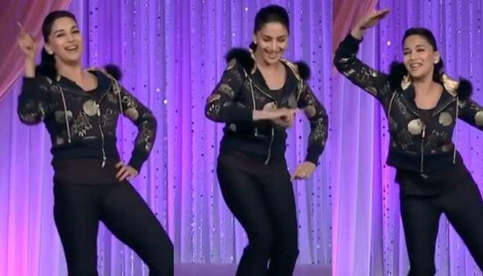 VIDEO: माधुरी दीक्षित ने फिर किया '1 2 3...' पर जबरदस्त डांस! फैंस बोले- 'यू आर बेस्ट'