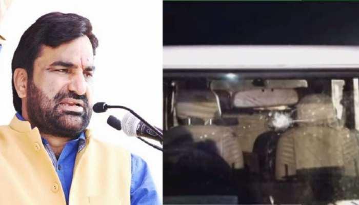 हनुमान बेनीवाल और केंद्रीय मंत्री कैलाश चौधरी पर हुआ पथराव, कांग्रेस कार्यकर्ता पर आरोप