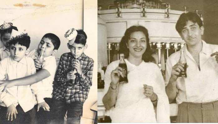 THROWBACK: बचपन में Coca Cola के मॉडल थे ऋषि कपूर, अनिल कपूर और बोनी कपूर, राज कपूर-नर्गिस भी करते थे एड!