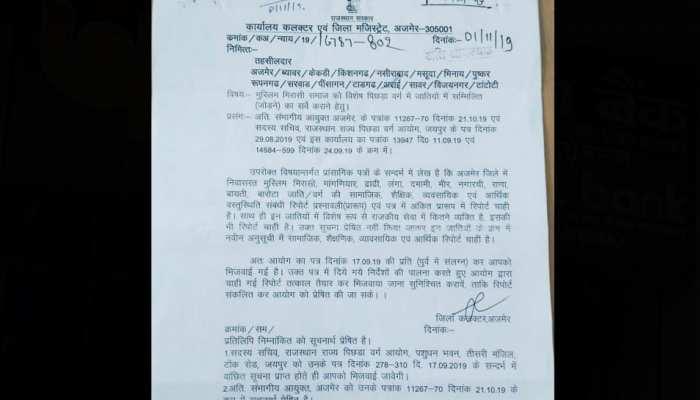 राजस्थान सरकार गुर्जर कोटे से मुस्लिमों को दे सकती है आरक्षण, फिर हो सकता है घमासान