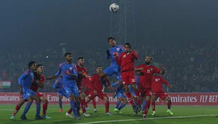 Football:  इंजुरी टाइम के गोल से टली हार, भारत ने अफगानिस्तान को ड्रॉ पर रोका