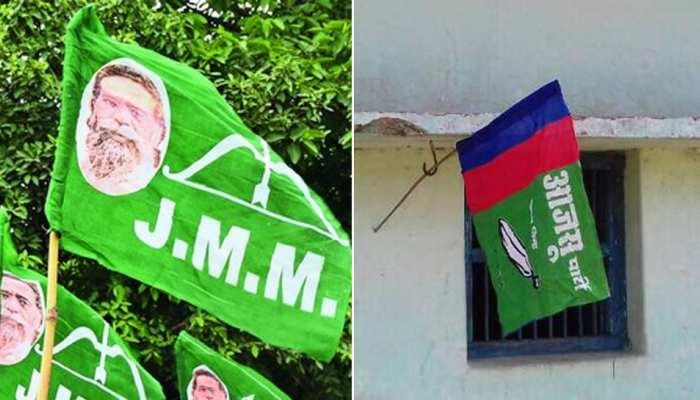 झारखंड विधानसभा चुनाव 2019: 'बागी' नेताओं की शरणस्थली बना AJSU, JMM