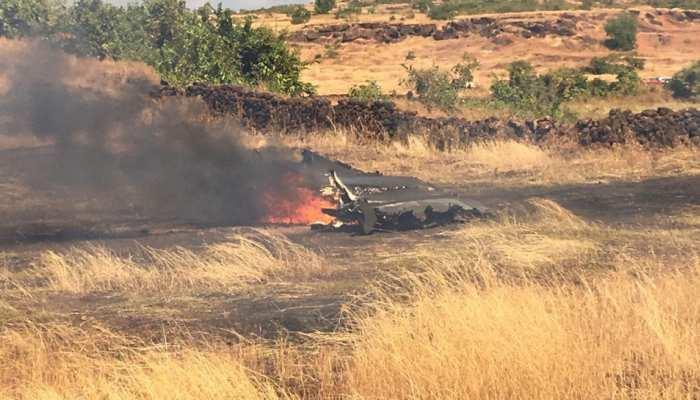 गोवा: इंजन में आग लगने से फाइटर एयरक्राफ्ट MiG-29K क्रैश, ट्रेनिंग के लिए भरी थी उड़ान