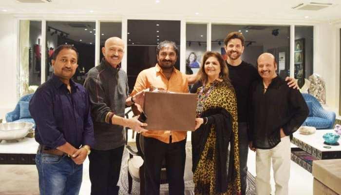PICS: Hrithik gives success party on 'Super 30' success