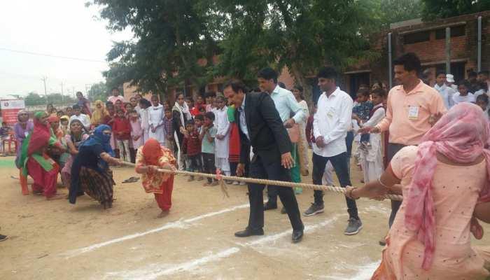सुभाष चंद्रा फांउडेशन ने करवाए खेल मुकाबले, महिला खेल उत्सव में उमड़े ग्रामीण