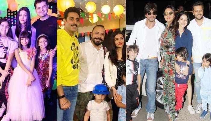 Abhishek-Aishwarya daughter Aaradhya turn 8, see pictures of BIRTHDAY PARTY