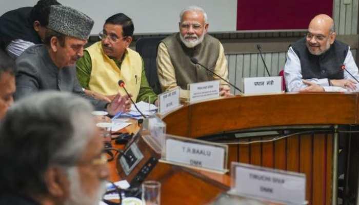 सर्वदलीय बैठकः नागरिकता संशोधन बिल, फारुख अब्दुल्ला की कैद का उठेगा मुद्दा