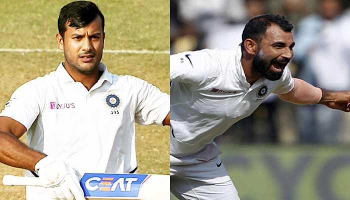 इंदौर टेस्ट का फायदा मिला मयंक-शमी को, पहुंचे ICC  की बेस्ट करियर रैंकिंग पर