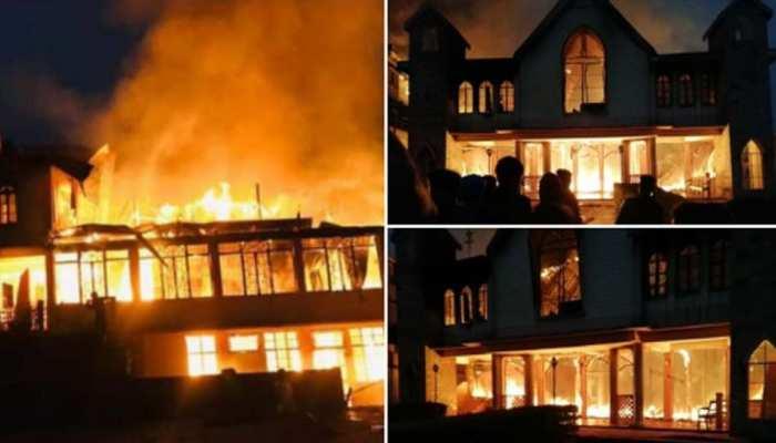 मेघालय में 95 साल पुराना चर्च जला, 'दम घुटने' की वजह से 2 लोगों की मौत