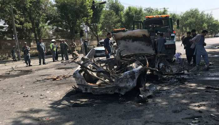 अफगानिस्तान: काबुल में सैनिक ट्रेनिंग सेंटर के बाहर आत्मघाती हमला, 4 जवान घायल