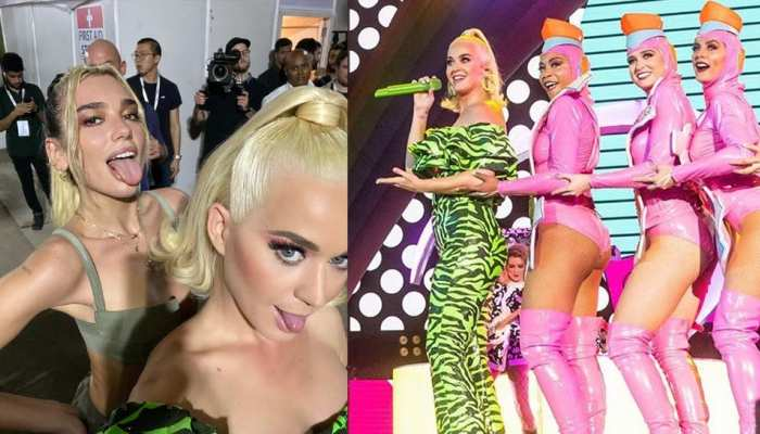 See Katy Perry photos during live concert in Mumbai