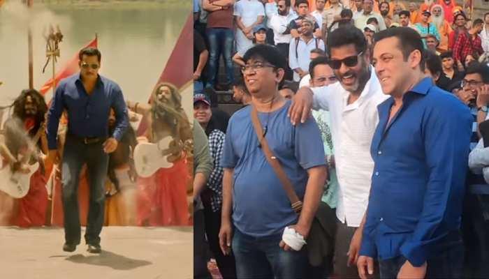सलमान खान की 'दबंग 3' के गाने का मेकिंग VIDEO देख आप भी बोलेंगे- 'हुड हुड...'