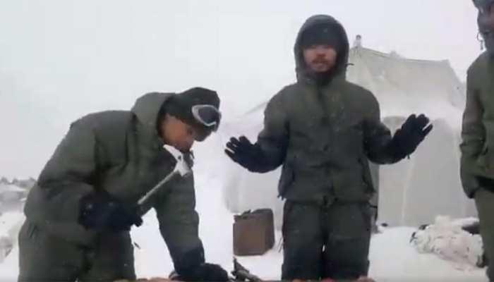 सियाचिन: बर्फीले तूफान की चपेट में भारतीय सेना की पोस्ट, कई जवान दबे