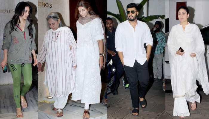 Aishwarya Rai, Jaya Bachchan, Shilpa Shetty, Kareena Kapoor etc for Visitors at manish malhotra's residence
