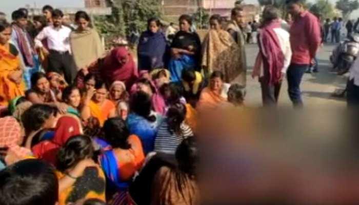 दानापुर: स्कूल बस ने शख्स को कुचला, आक्रोशित लोगों ने किया हंगामा और सड़क जाम