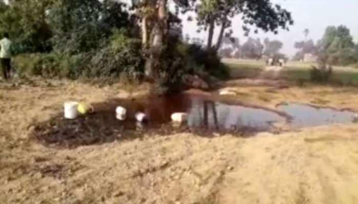 बिहार: बाढ़ में पाइपलाइन लीक होने पर हजारों लीटर तेल बहा, पुलिस कर रही जांच