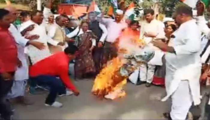 बेगूसराय: कांग्रेस का केंद्र सरकार के खिलाफ प्रदर्शन, 30 को दिल्ली में बड़े आंदोलन की तैयारी