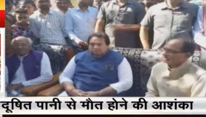 शिवराज सिंह चौहान का दावा, 'नूरगंज में दूषित पानी से हुई 2 माह में 11 मौतें'