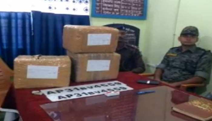 हजारीबाग: पुलिस ने बरामद किया 25 लाख का गांजा, चेकिंग के दौरान मिली कामयाबी