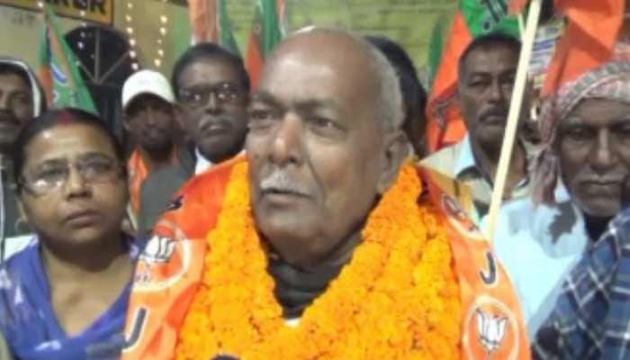 BJP से टिकट मिलने के बाद पाकुड़ पहुंचे बेनी प्रसाद, बोले- लोगों में जगी विकास की आस