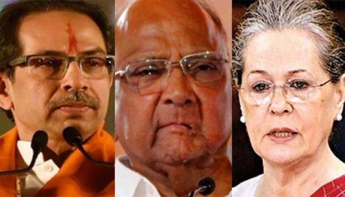 महाराष्ट्र: अगले 2 दिन में राज्यपाल से मुलाकात कर सरकार बनाने का दावा पेश कर सकती हैं NCP-शिवसेना-कांग्रेस