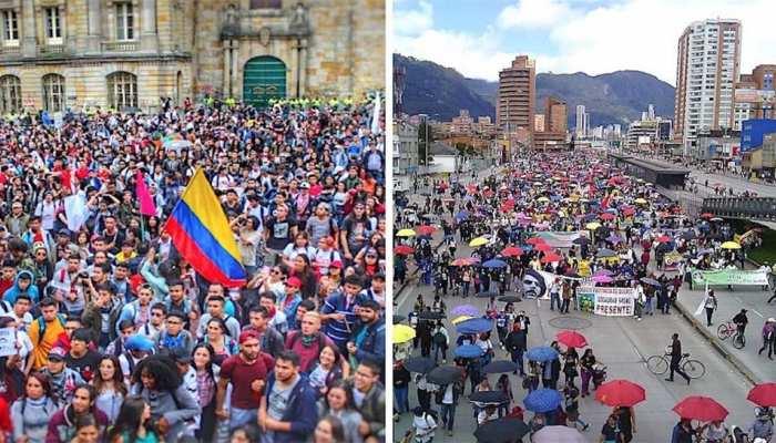 कोलंबिया: राष्ट्रपति की नीतियों के खिलाफ बड़े पैमाने पर विरोध, 3 की मौत, 98 हिरासत में