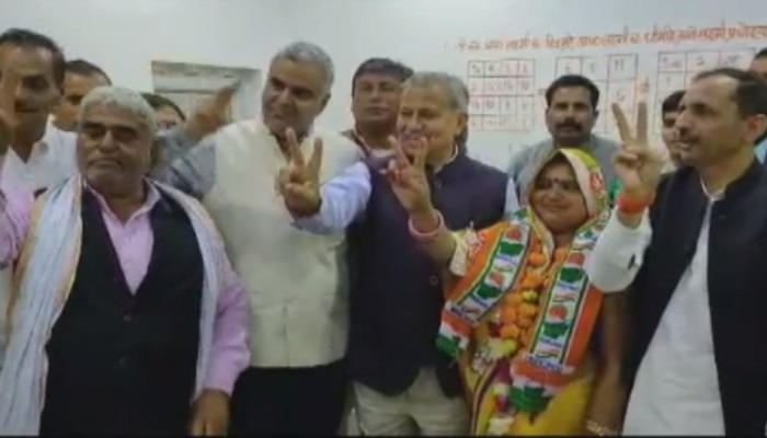 भरतपुर में रुपवास नगर पालिका की चेयरमैन बबीता कुमारी ने खेला बड़ा खेल - बीजेपी को दिया जोर का झटका