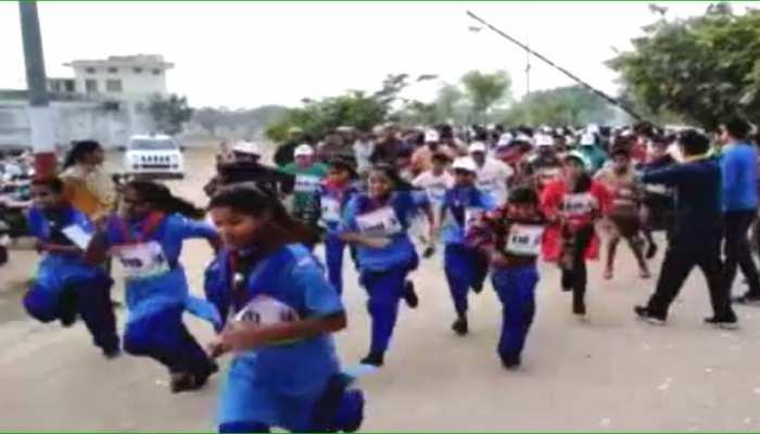 बूंदी उत्सव के 'हेरिटेज रन' में जमकर दौड़े शहरवासी, 5 किमी की लगाई दौड़