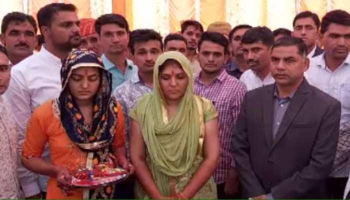 डीडवाना: पुलिसकर्मियों ने किया शहीद की बहन का कन्यादान, गिफ्ट किए 1 लाख रुपये और स्कूटी