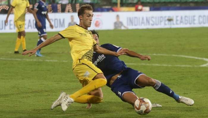 ISL-6:  चेन्नइयन ने हैदराबाद को चौंकाया, इंजुरी टाइम में हुए गोल से जीता पहला मैच
