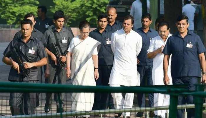 20-20 विधायकों के घेरे में रहेंगी सोनिया गांधी? सुरक्षा का जिम्मा चाहता है ये राज्य