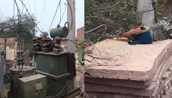 राजस्थान में बिजली विभाग की लापरवाही से जान पर आफत