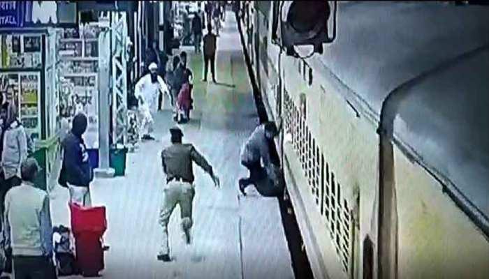 ट्रेन में चढ़ते समय न करें जल्दबाजी, बन सकते है एसे हदसे का शिकार