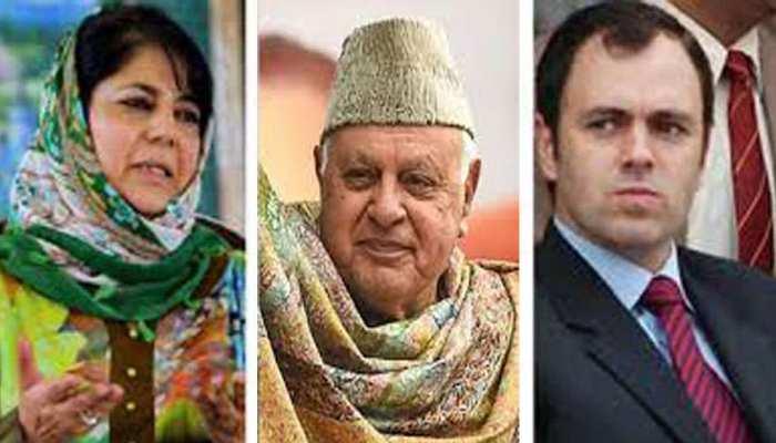 फारूक, उमर, महबूबा की रिहाई पर कोई फैसला नहीं: BJP नेता का बयान