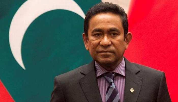 मालदीव के पूर्व राष्ट्रपति अब्दुल्ला यामीन को 5 साल की जेल