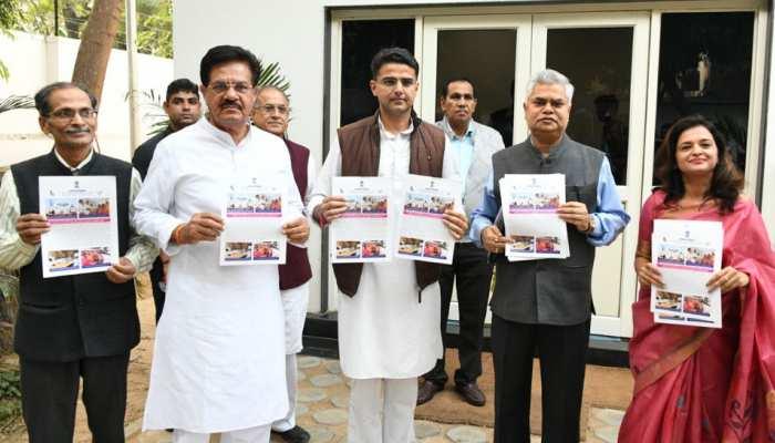 डिप्टी CM पायलट ने किया 'मासिक पत्र राजस्थान' का विमोचन, बोले- हर गांव तक पहुंचेगी योजना