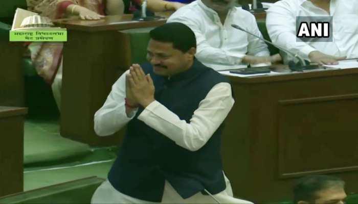 महाराष्ट्र विधानसभा के निर्विरोध अध्यक्ष चुने गए कांग्रेस के नाना पटोले, बीजेपी उम्मीदवार ने लिया नाम वापस