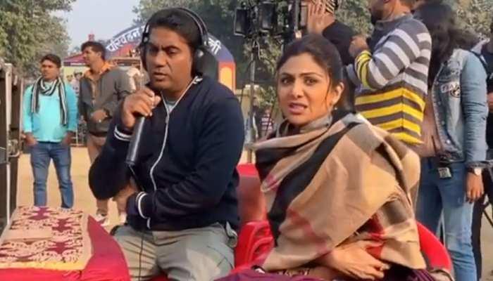 शिल्पा शेट्टी ने सेट पर अपने ही डायरेक्टर को कहा 'निकम्मा'! देखिए मजेदार VIDEO