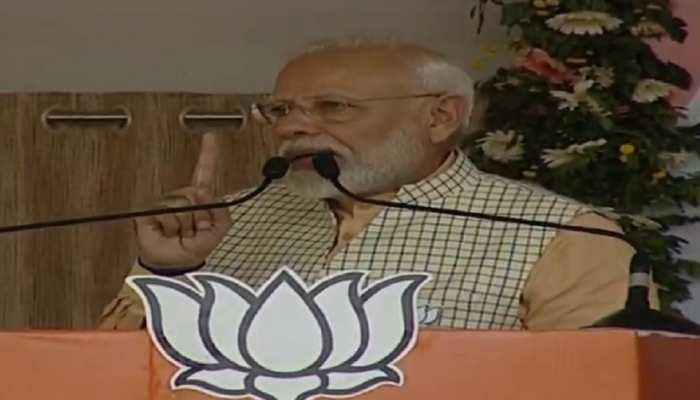 जमशेदपुर: 370, अयोध्या, तीन तलाक पर बोले PM मोदी, कहा- कांग्रेस ने उलझाया, हमने सुलझाया