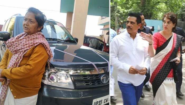 प्रियंका के घर में शारदा त्यागी की कार ने की थी घुसपैठ, बेटा लड़ रहा MLC का चुनाव