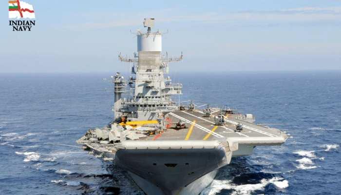 समंदर में भारतीय नौसेना की कदमताल, चीन में 'खलबली'!
