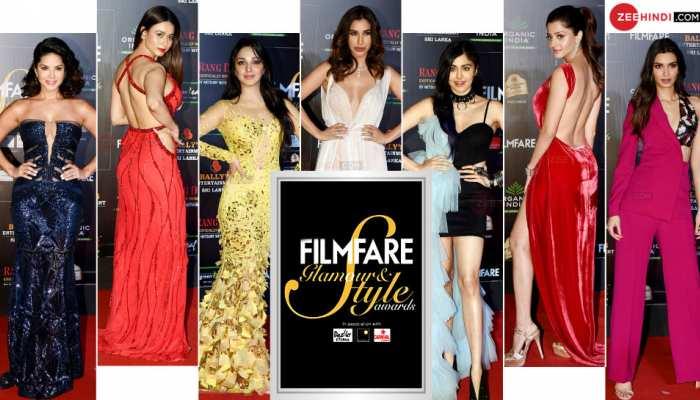 Saif Ali Khan, Anushka Sharma, Kiara, Kriti, Malaika in 6th edition of Filmfare Glamour & Style Awards