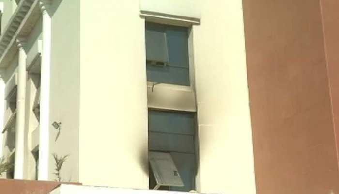 झारखंड में नए विधानसभा भवन में लगी भयावह आग, 10 दिसंबर को करना था हैंडओवर