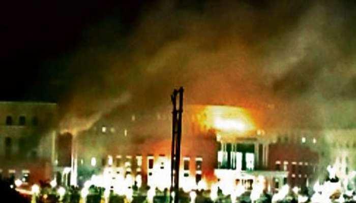 झारखंड विधानसभा के नये परिसर में लगी भीषण आग, भारी नुकसान की आशंका