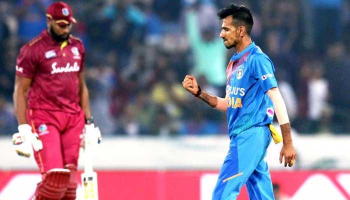 INDvsWI: चहल बने भारत के सबसे कामयाब गेंदबाज, अश्विन की बराबरी की