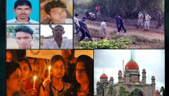 हैदराबाद में 'वहशी भेड़ियों' का एनकाउंटर, मामला पहुंचा हाईकोर्ट